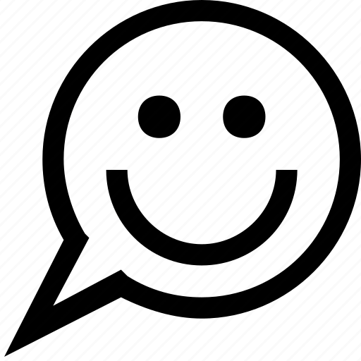 bubble, chat, comment, comments, message, smiley, talk icon