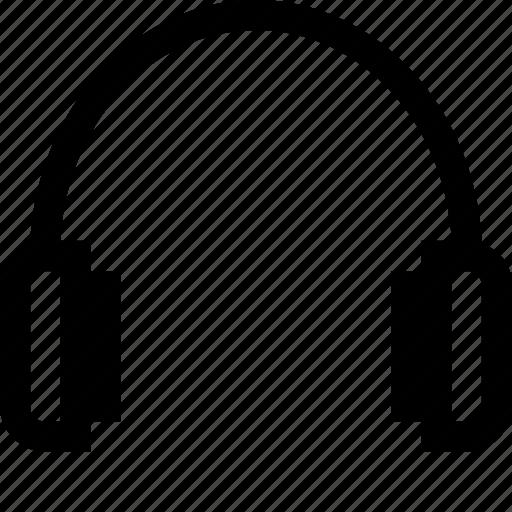 audio, headphone, headphones, headset, music icon