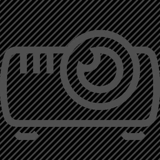 demonstration, display, film, presentation, projector, show, slide icon