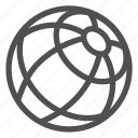 border, earth, geography, global, planet, sphere, world icon
