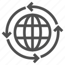 around, arrows, border, earth, international, planet, world