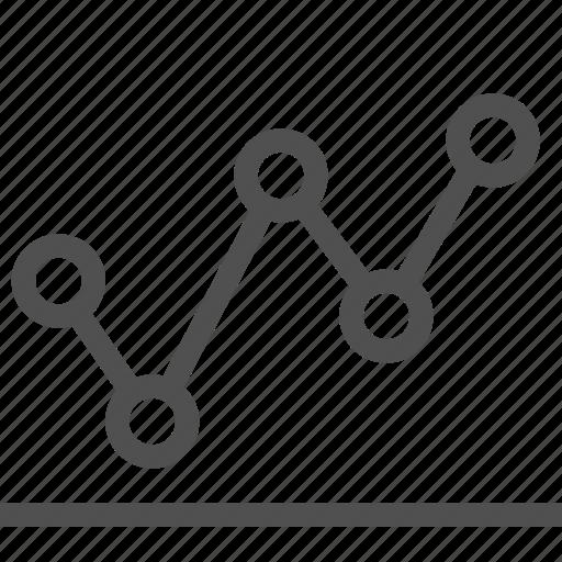 chart, data, diagram, dot, graph, infographic, plot icon