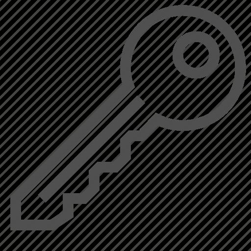 access, guard, key, keyhole, lock, opener, protection icon
