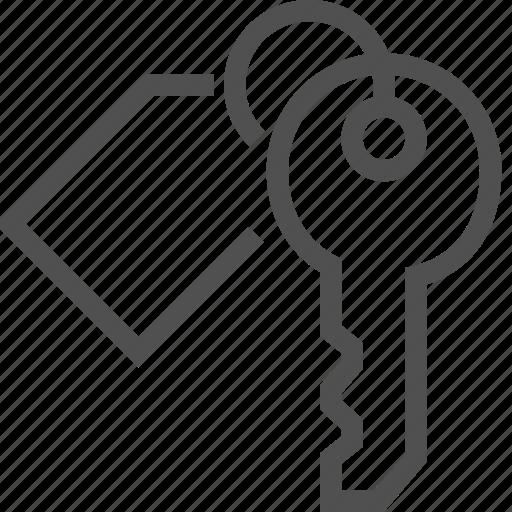 bunch, key, keychain, lock, open, opener, trinket icon