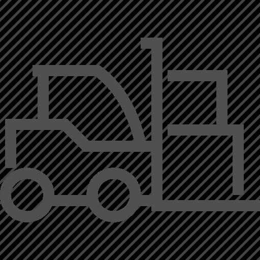 car, cargo, goods, heaver, loader, transport, transporter icon