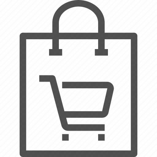 bag, buy, cart, ecommerce, label, package, shopping icon