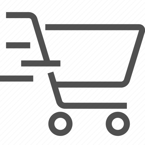 bag, buy, cart, checkout, ecommerce, express, shopping icon