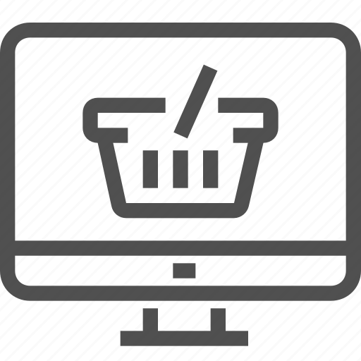 bag, basket, buy, cart, ecommerce, online, shopping icon
