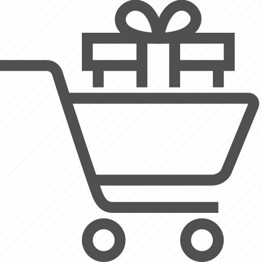 bag, buy, cart, ecommerce, gift, purchases, shopping icon