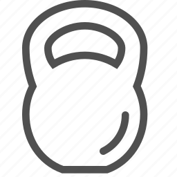 barbell, dumbbell, kettlebell, lift, sports, swing, weight icon