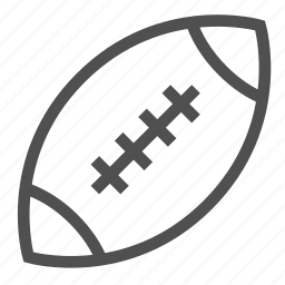 american, ball, football, game, rugby, sports, team icon