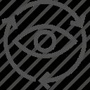 arrows, motion, traffic icon