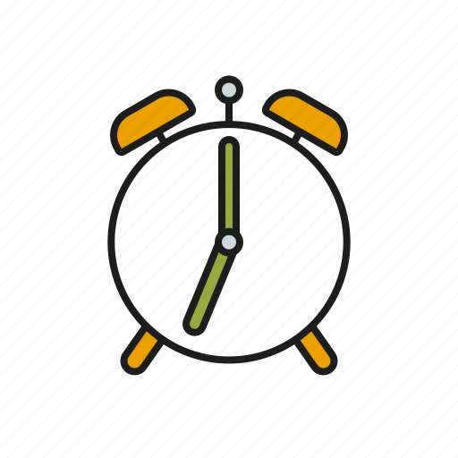 alarm clock, clock, deadline, education, school, time, timer icon