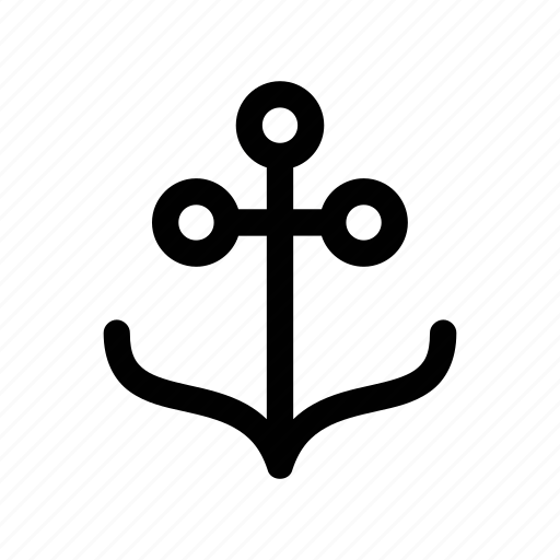 anchor, boat, landing, sea, ship icon