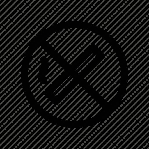 area, no, smoke, smoking, tobacco icon