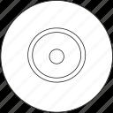 cd, disc, audio, music icon