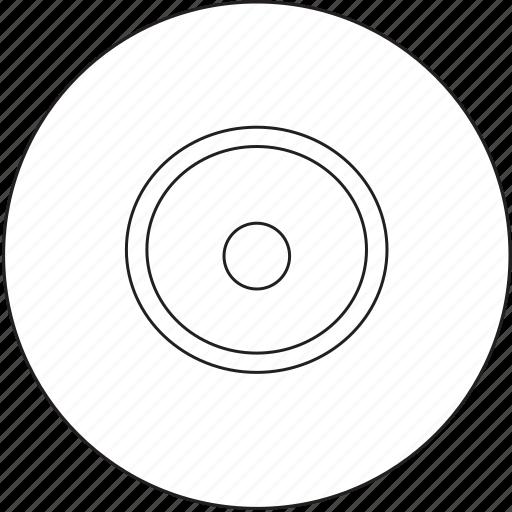 audio, cd, disc, music icon