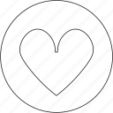 favorite, favourite, health, heart, like, love, valentine icon