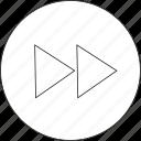 forward, audio, media, music