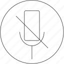 microphone, off, audio, music