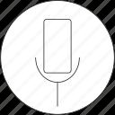 microphone, on, audio, music