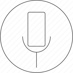 audio, microphone, music, on icon