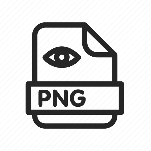 extension, file, file png, format icon