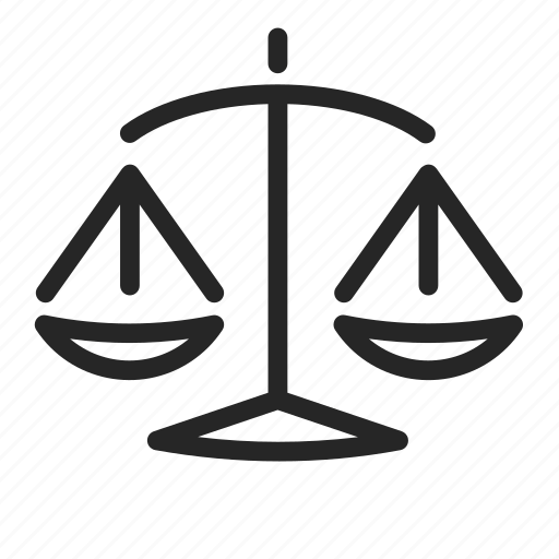 Balance, crime, justice, law, libra, scales icon - Download on Iconfinder