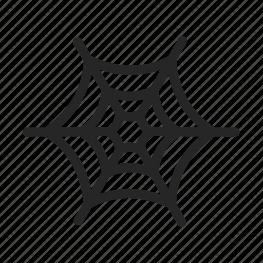 halloween, horror, spider, web icon