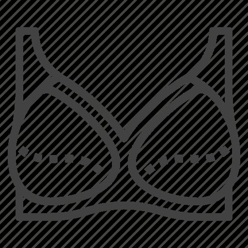 bra, breast, lingerie, support, underwear icon
