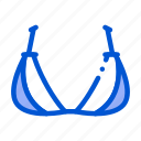 bras, brassiere, lingerie, panties, triangle icon