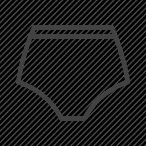 brief, lingerie, panties, underpants, underwear icon