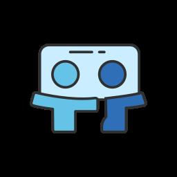 group, linkedin, present, slideshare icon