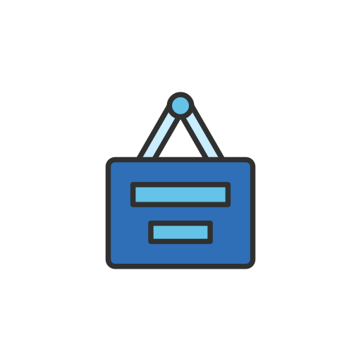 job list, linkedin, list, post a job icon