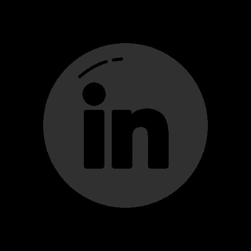 label, linkedin, linkedin logo, logo icon