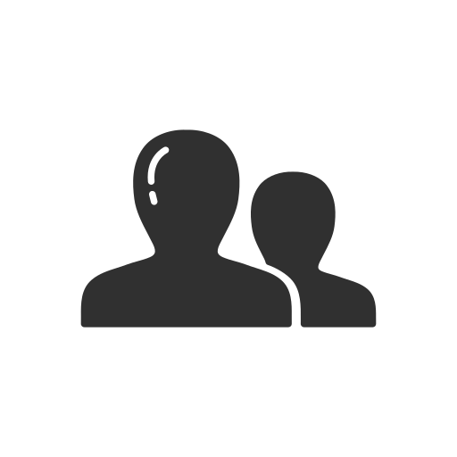 group, linkedin, network, users icon