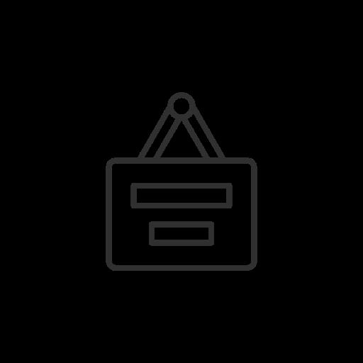 joblist, linkedin, list, post a job icon