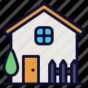 estate, garden, home, house, household, real, rent icon