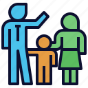 family, father, kid, mother, parenting, parents icon
