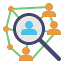 community, network, networking, science, social icon
