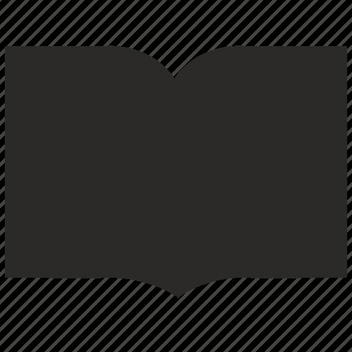 book, literature, open, text icon