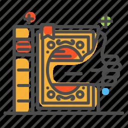 colour, creep, design, line icon