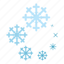 cartoon, circle, element, progress, round, snowflake, web icon