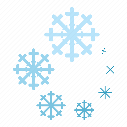 cartoon, circle, element, progress, round, snowflake, web icon