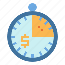 clock, money, time, velocity