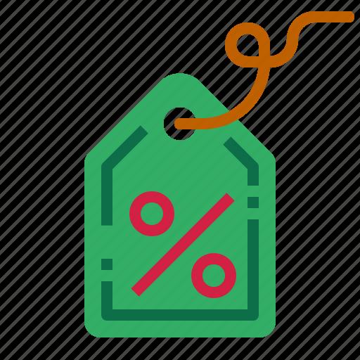 discount, percenttag, tag icon