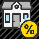 credit, debt, estate, house, loan, percentage, real