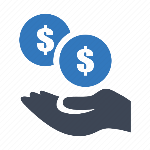 fee, income, payment icon