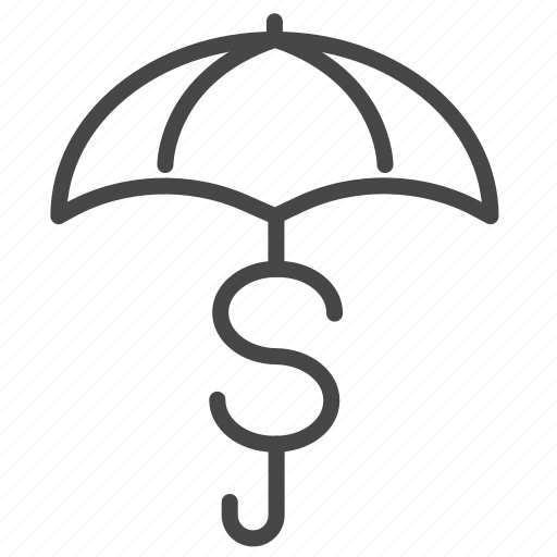 financial, insurance, investment, money, protect, risk icon
