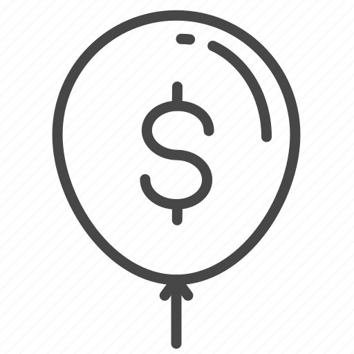 balloon, floating, interest, loan, money, payment, rate icon
